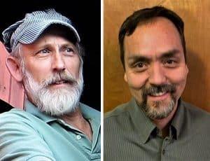Bill Badger and Shawn Harrington