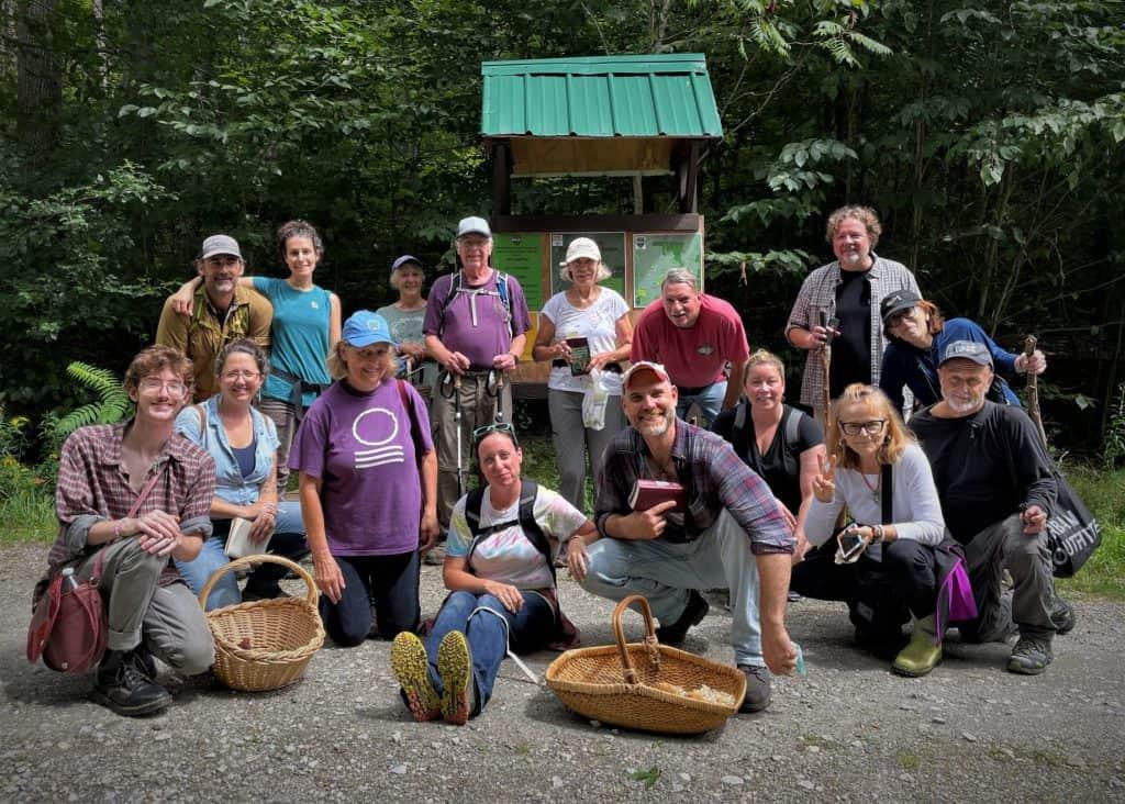 Mushroom Workshop group